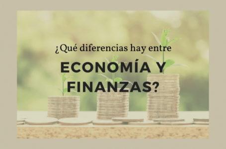 Cuáles son las diferencias entre economía y finanzas